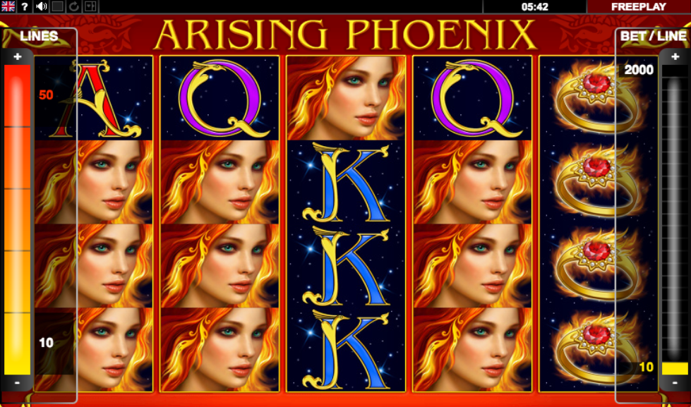 Spiele Arising Phoenix - Video Slots Online