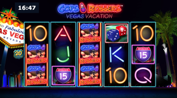 cops and robbers new slot