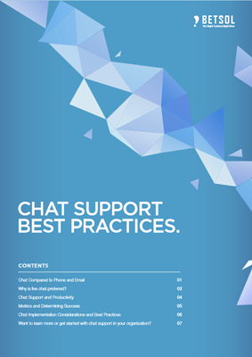 PDF - Chat Support Best Practices