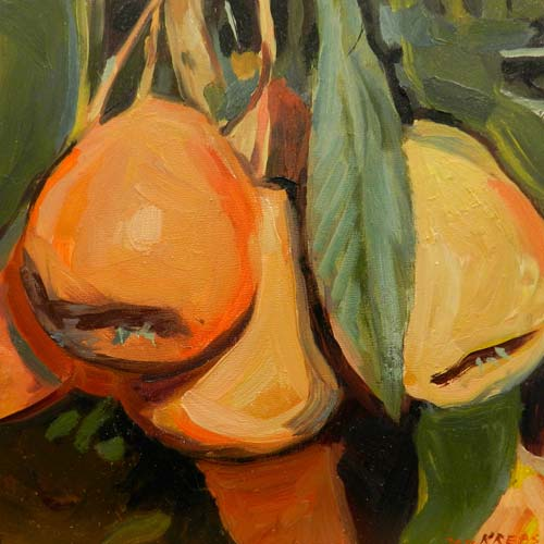 Pears Oil Painting