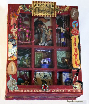 Altered-art-circus-box-front-by-Paper-Calliope