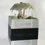 "Artist Trading Block: ""Rain"" #2 in Jane Austen ATB Series"