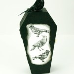 Trick out your treats with this altered art coffin