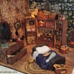 A time of magic and dragons in a miniature Merlin's room