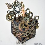 A ballerina music box goes steampunk