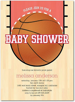 Baby Shower Sports Theme S