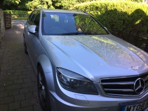 Mercedes C63 W204 frontage