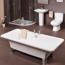 small baths - shower baths, walk in bath, small bathroom solution
