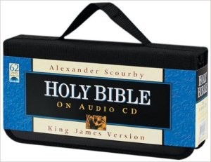 Audio CD KJV Alexander Scourby 62 CD set