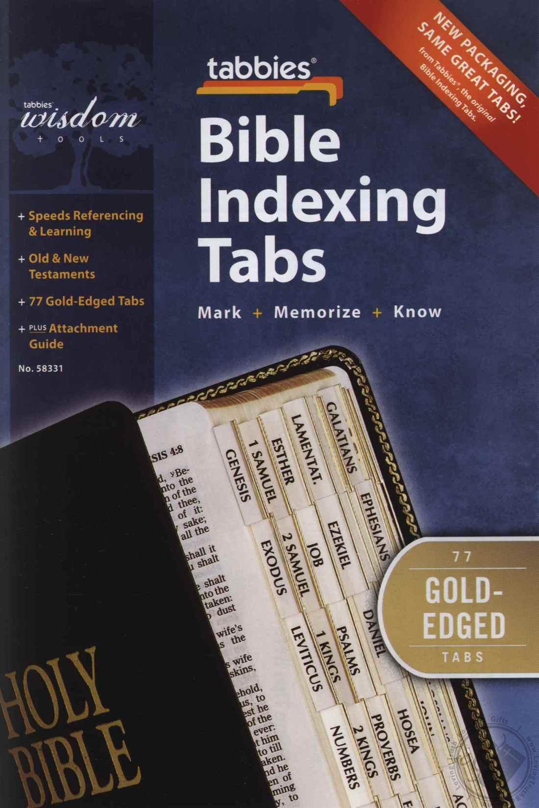 calgary bible study tabs index