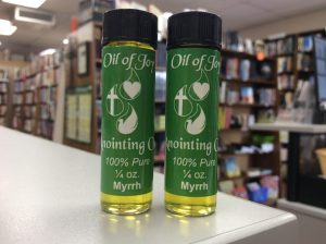 calgary anointing oil sale