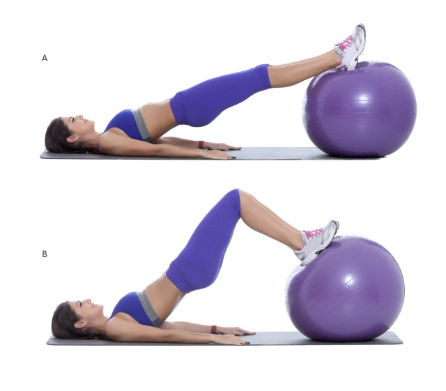 bridge extension with medicine ball