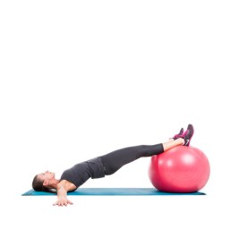 physioball leg curl extended