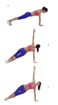 plank rotation exercise