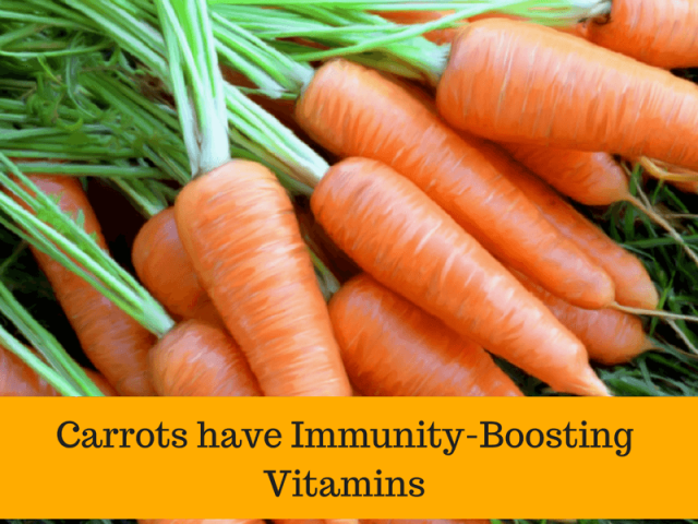 Carrot for stomach worms