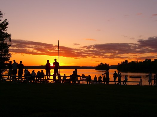 Sunsets at Camp Manitou
