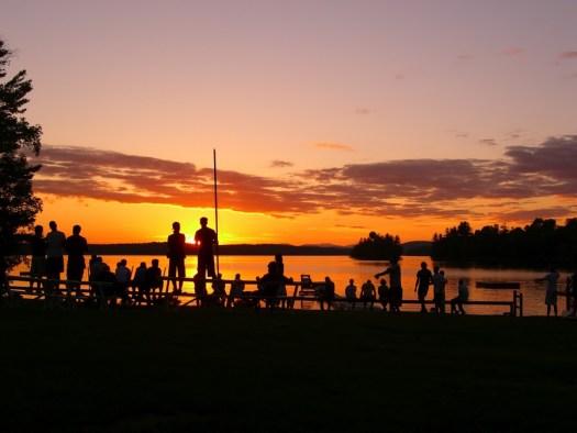 Sunsets at Camp Manitou