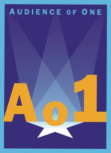 Ao1 theatre logo