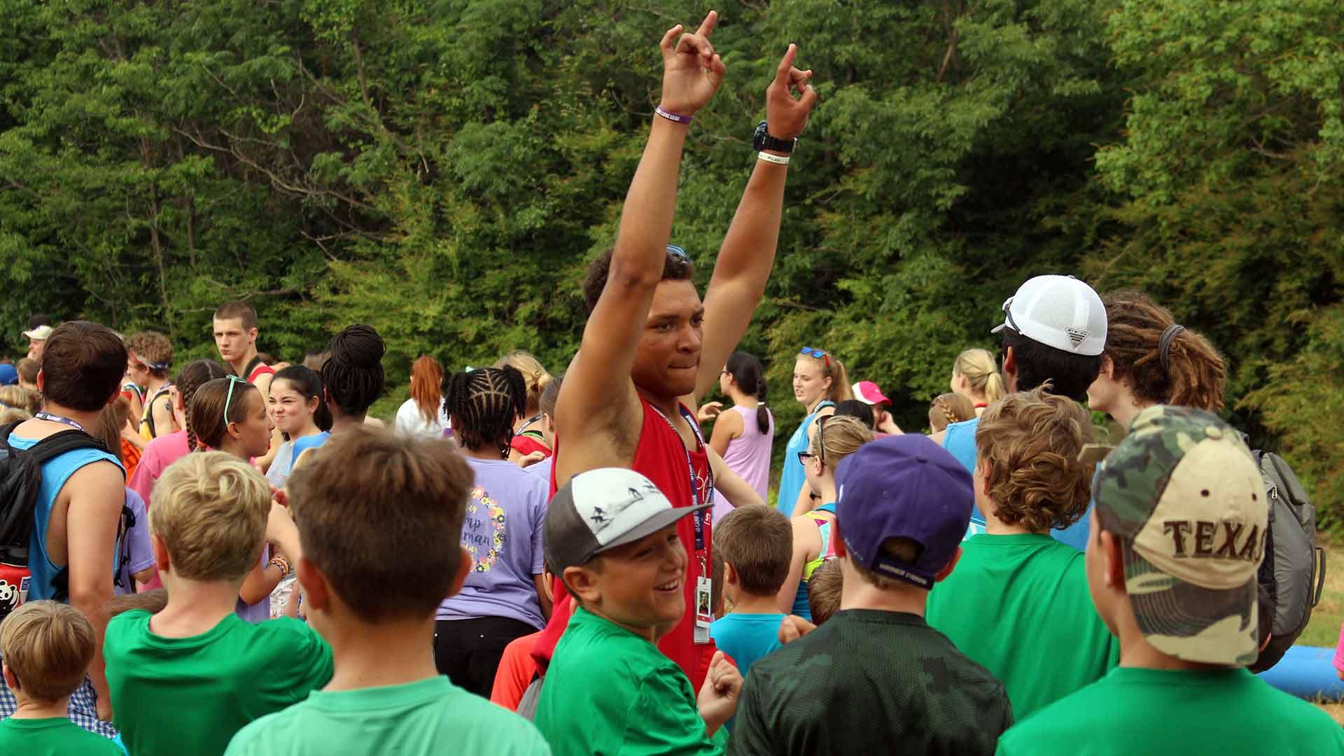 Taz Rally at camp thurman