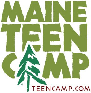 maine teen camp logo