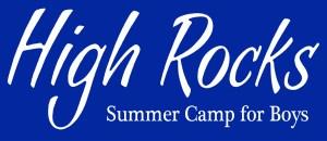 camp high rocks logo
