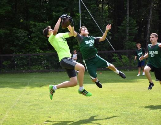 Camp Takajo 2 american football