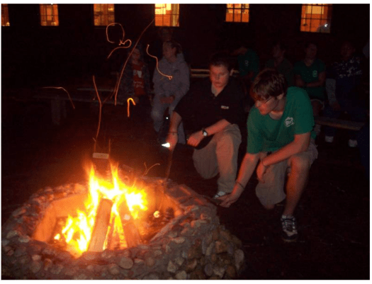 Camp Fire at Gathering