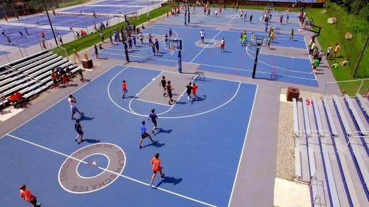 camp walden NY 3 basketball courts