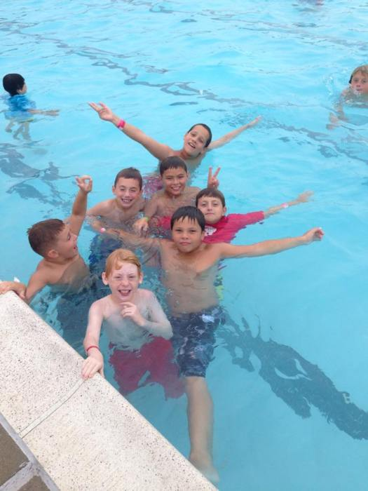 Adventure Park Academy kids swimming