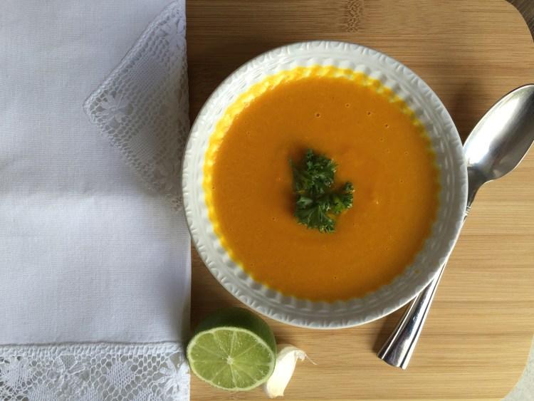Creamy Carrot Soup by Carolina Jantac