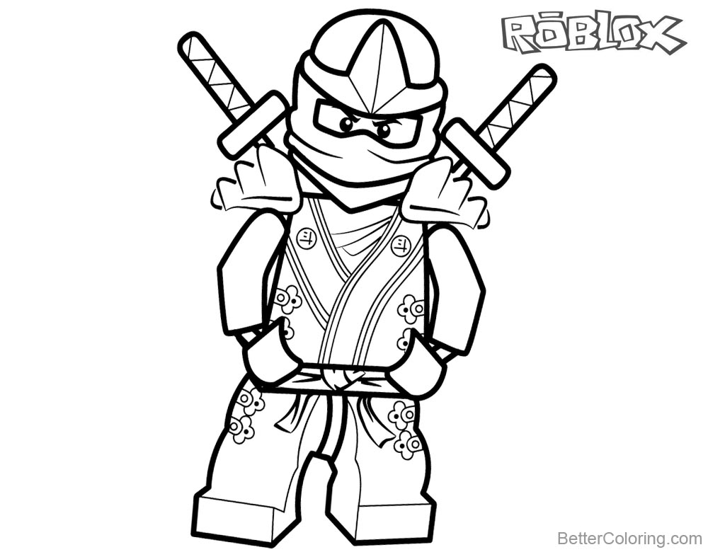 image about Roblox Printable Coloring Pages titled Roblox Outstanding Uncomplicated Coloring Internet pages For Children - Upon Log Wall