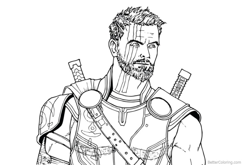 free coloring pages avengers infinity war  bltidm