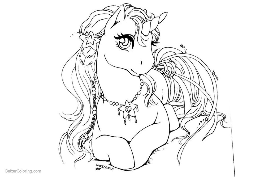 Popular Easy Coloring Sheets For Girls Unicorn Unicorn