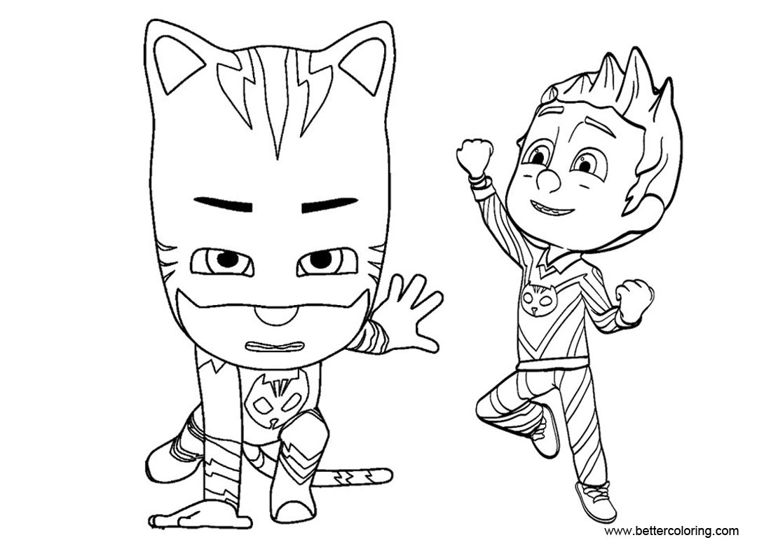 Printable Pj Mask Coloring Pages That Are Universal