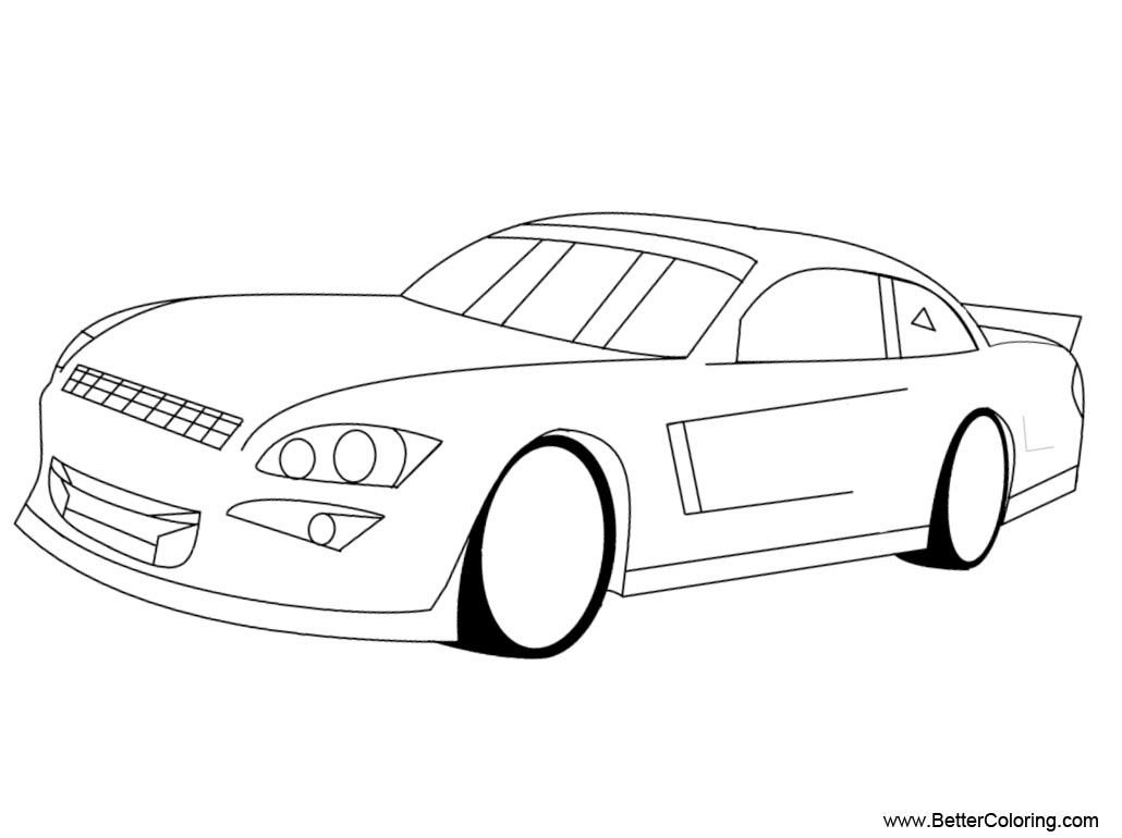 Nascar Coloring Pages Chevy Impala Base By Monkeyfan250