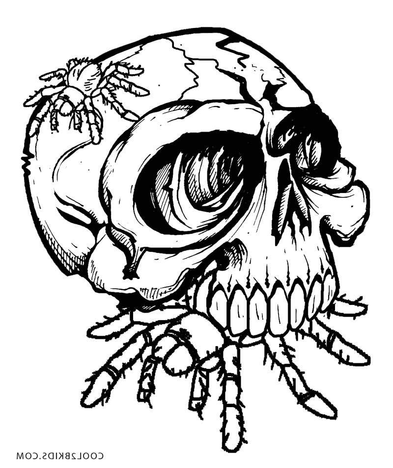 all horror killers pages coloring pages