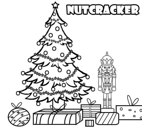 nutcracker coloring page # 59