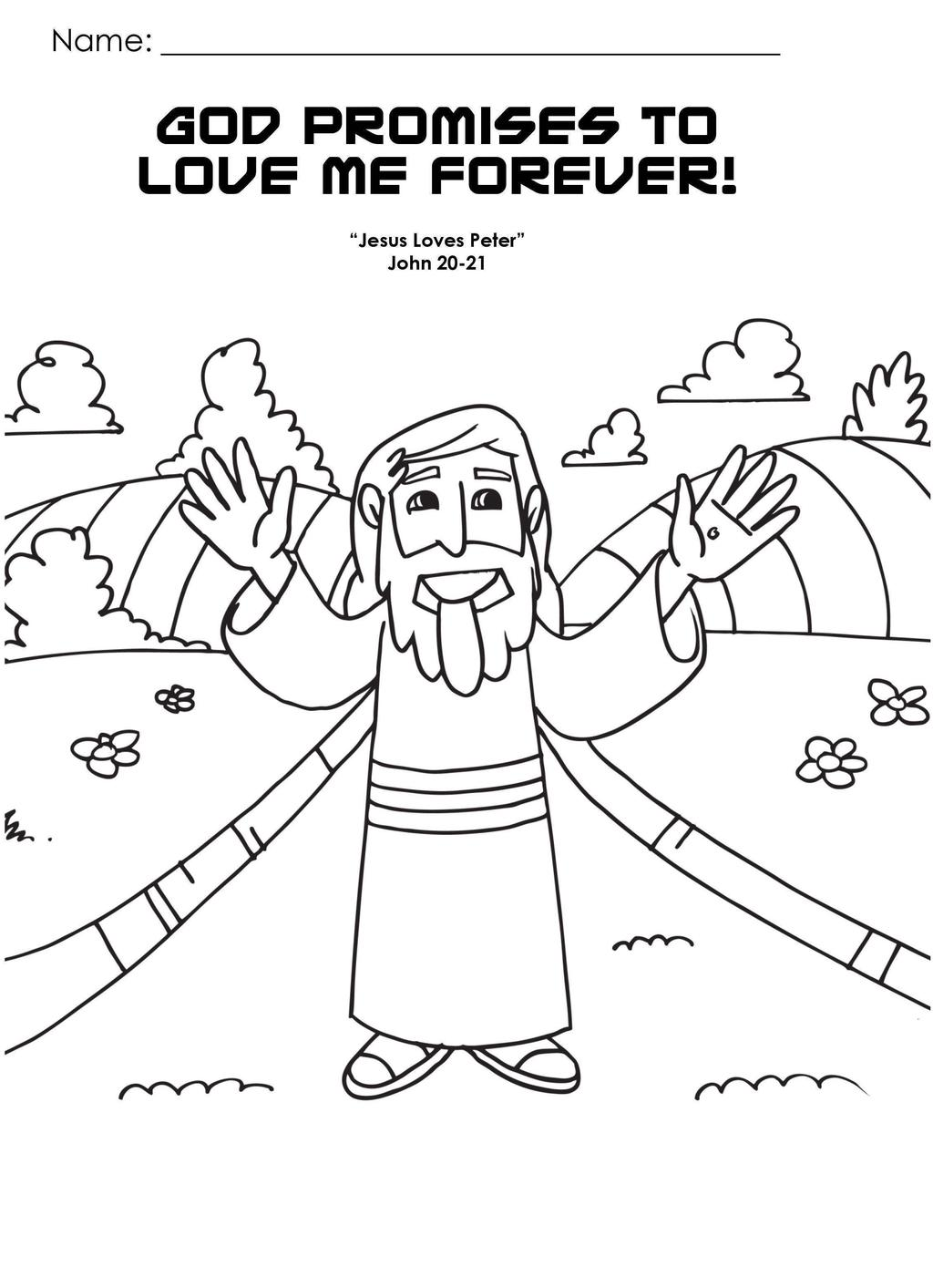 Jesus Loves Me Coloring Pages I Love Drawing Pictures