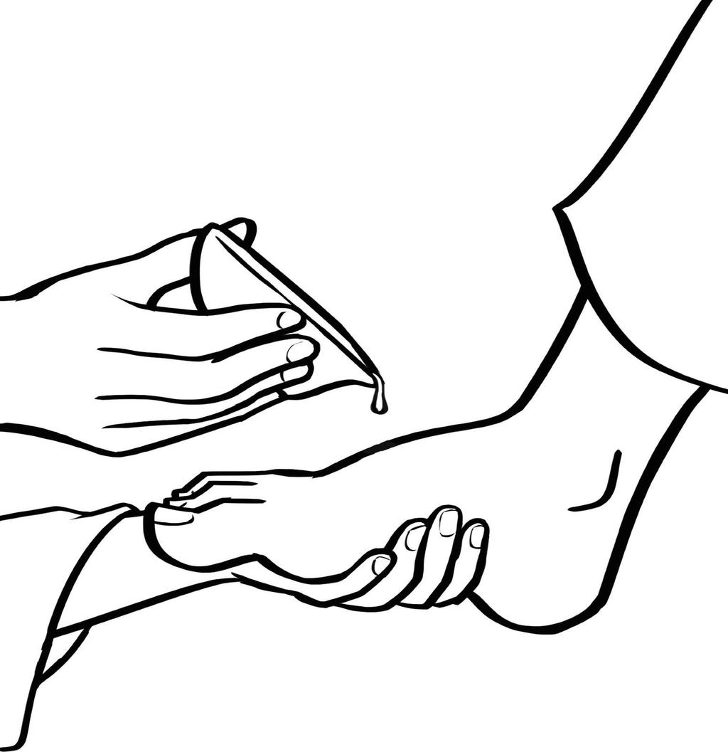 Jesus Washing Feet Coloring Pages His Disciples