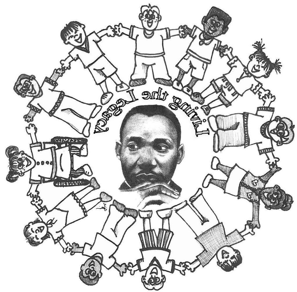 Martin Luther King Jr Day Coloring Pages Activities Worksheets Activity