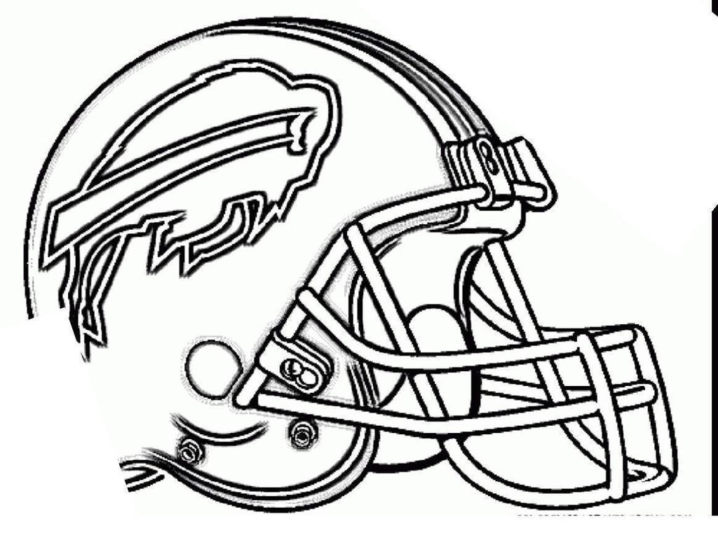 Nfl Football Helmets Coloring Pages Csb Linear