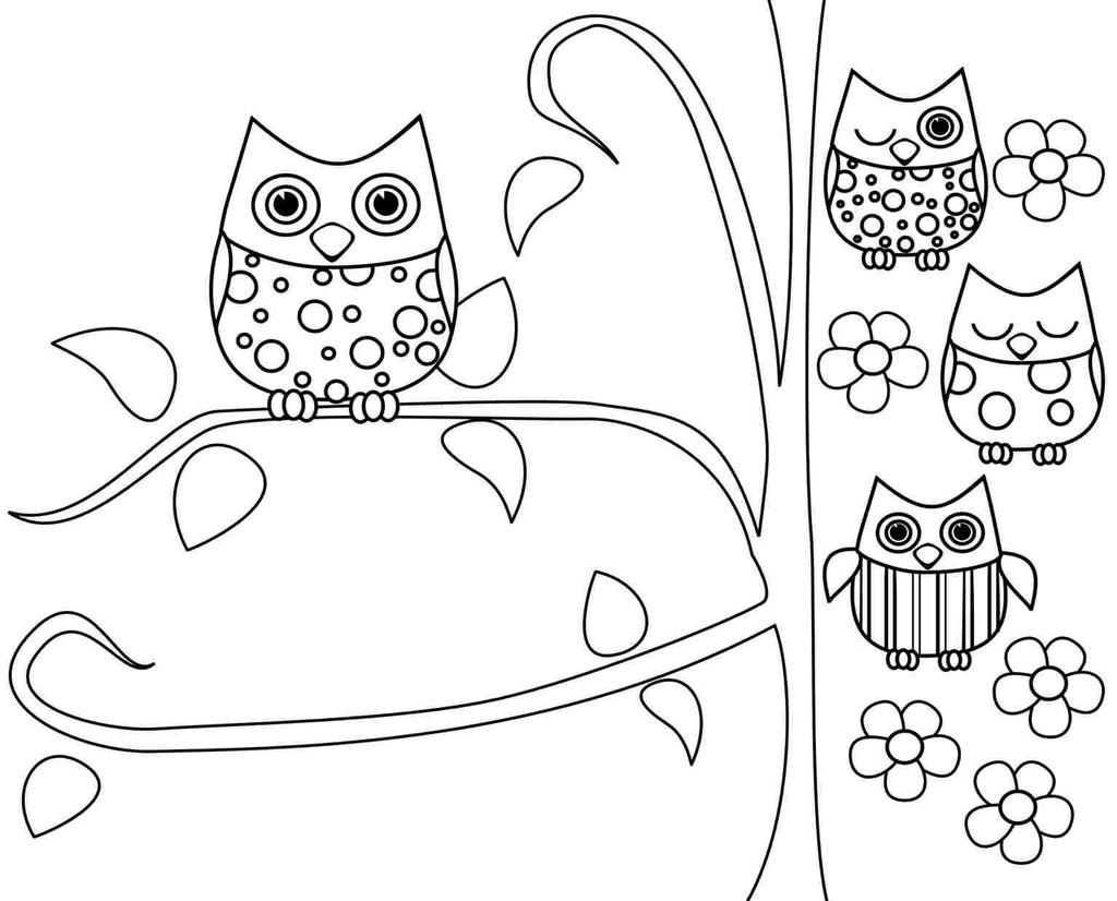 Snowy Owl Coloring Pages Class Teacher