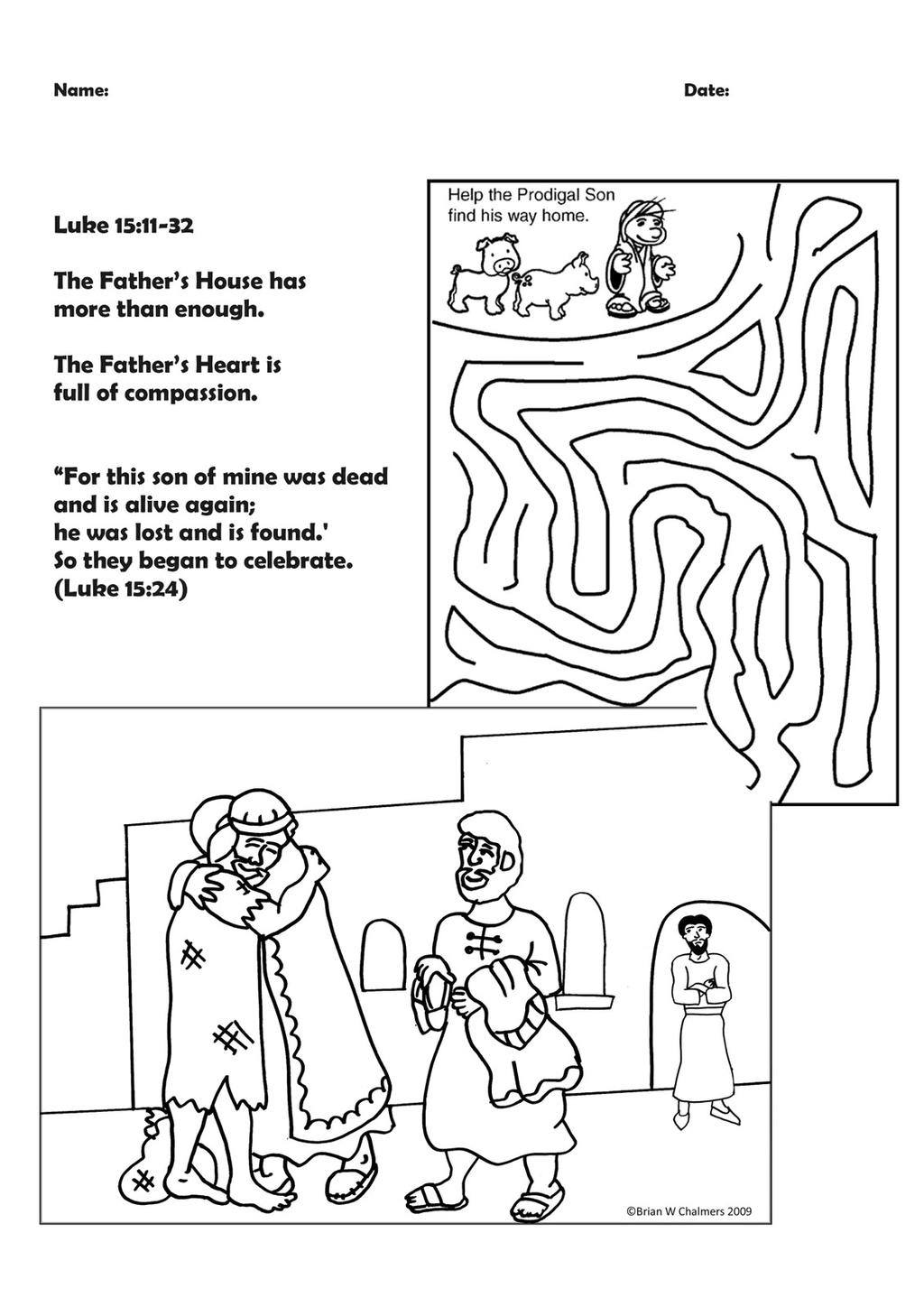 Sheep Lost Word Search Parable