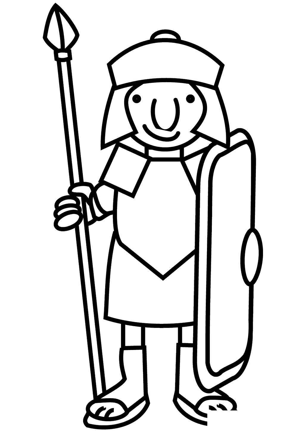 Rome Coloring Pages Sketch