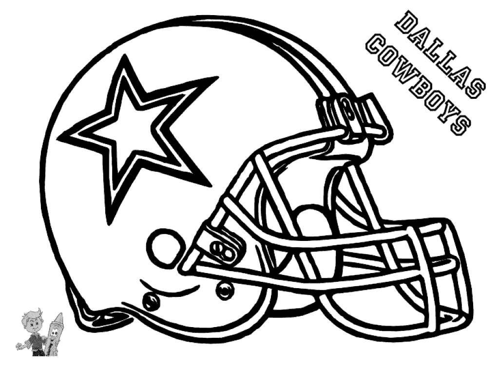 New York Giants Football Coloring Pages Nfl Helmet