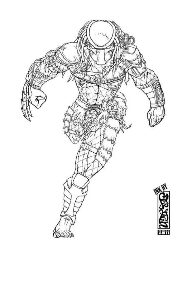 predator coloring pages # 29