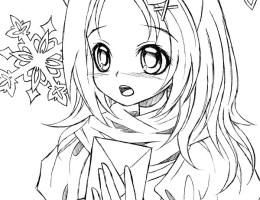 Gacha Life Coloring Pages Black And White Decoromah