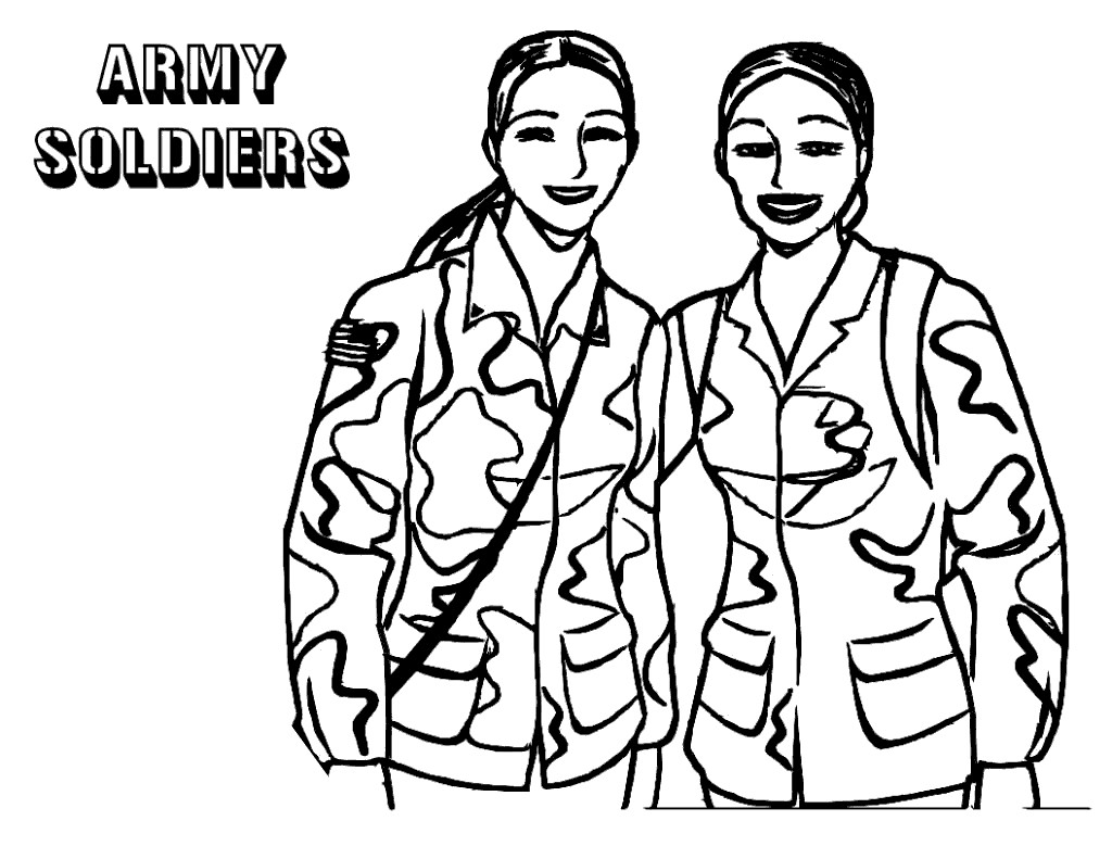 Veterans Day Coloring Pages Women Heros