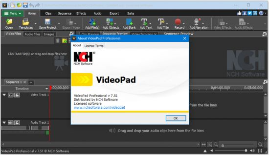 NCH VideoPad Video Editor Professional Crack patch