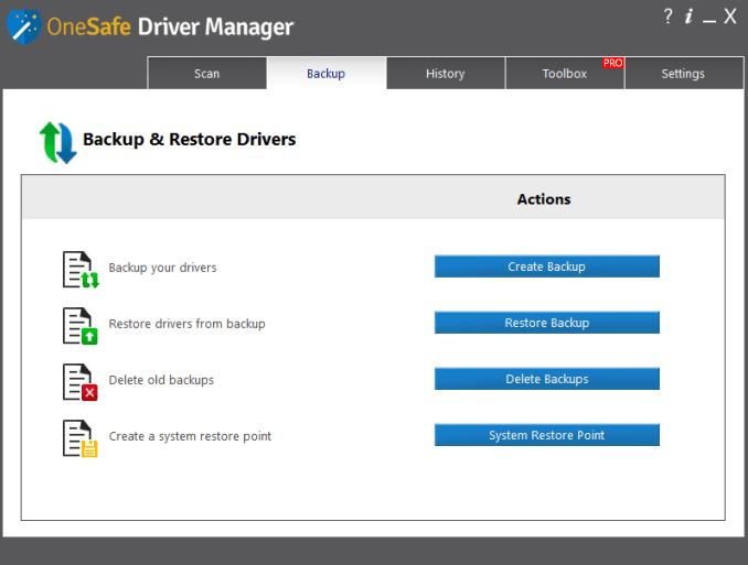 OneSafe Driver Manager Pro Free Download